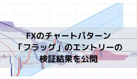 FXで「フラッグ」を使った手法のエントリーの検証を公開