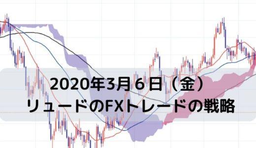 【2020年3月6日(金)】リュードのFXトレードの戦略